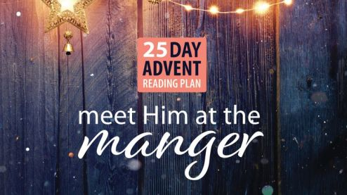 meet Him at the manger